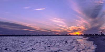 Photograph - Purple Sunset by Leticia Latocki