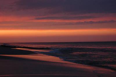 Purple Sunset Art Print by See Me Beautiful Photography
