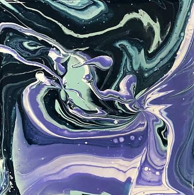 Painting - Purple Taffy by Karen Ahuja