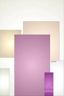 Digital Art - Purple Touch by Rafael Salazar