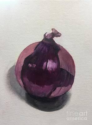 Purple Union Art Print