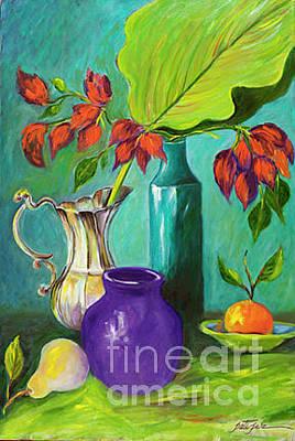 Painting - Purple Vase by Pati Pelz