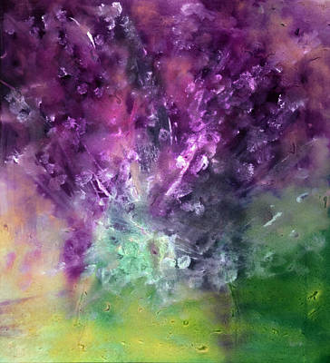 Designers Choice Painting - Purple Vortex Painting by Don  Wright