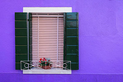 Photograph - Purple Wall by Michael Blanchette