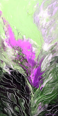 Painting - Purple Whisper by Gina De Gorna
