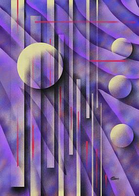 Painting - Purple Zebra by Hakon Soreide