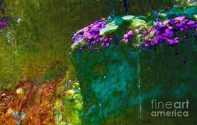 Photograph - Purples, Greens, And Blues by David Frederick