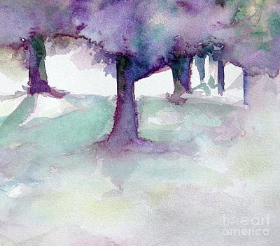 Purplescape II Art Print