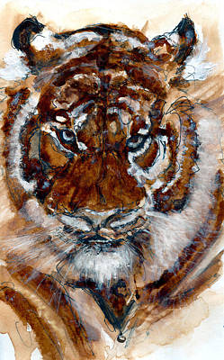 Painting - Purrrrfect by Howard Barry