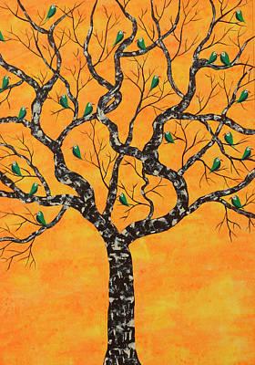 Painting - Purva Vriksh by Sumit Mehndiratta