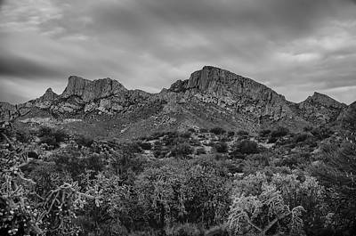 Mark Myhaver Royalty Free Images - Pusch Ridge At Dusk Royalty-Free Image by Mark Myhaver