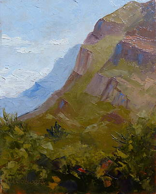 Painting - Pusch Ridge I by Susan Woodward