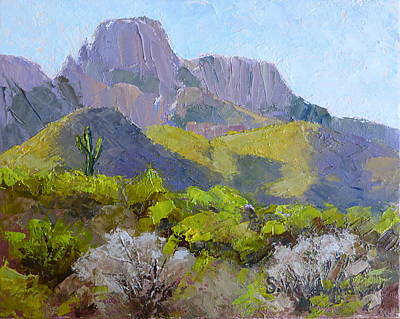Painting - Pusch Ridge II by Susan Woodward