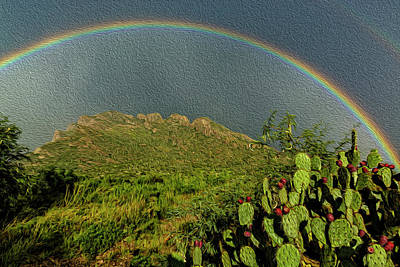 Mark Myhaver Rights Managed Images - Pusch Ridge Rainbow 0p39 Royalty-Free Image by Mark Myhaver