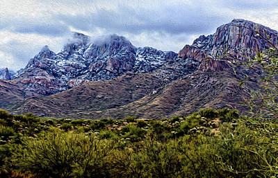 Photograph - Pusch Ridge Snow No9 by Mark Myhaver