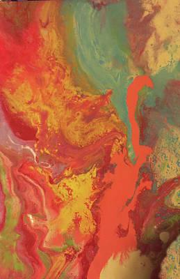 Painting - Push Pop  Ice Cream by Angela Holmes