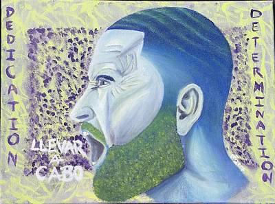 Inspirational Painting - Push Through by Jerel Ferguson