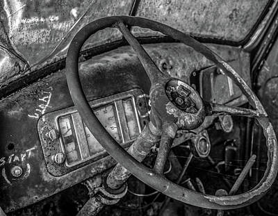 Photograph - Push To Start by Gary Karlsen