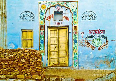 Photograph - Pushkar Doorway by Derek Selander