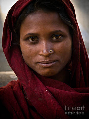 Photograph - pushkar girl I by Derek Selander