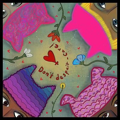 Digital Art - Pussyhat Power #2 by Marti McGinnis
