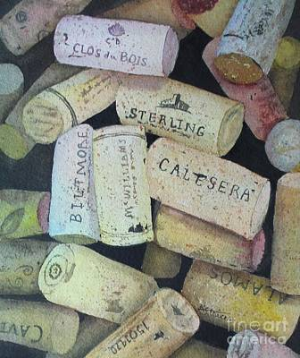 Painting - Put A Cork In It by Kathy Staicer