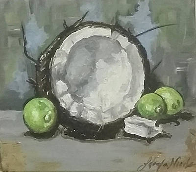 Painting - Put A Lime In The Coconut by Jeleata Nicole