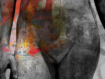 Nude Digital Art - Put A Little Love In Your Heart by Paul Lovering