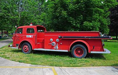 Photograph - Put-in-bay Volunteer Fire Dept I  by Michiale Schneider