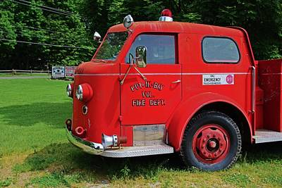 Photograph - Put-in-bay Volunteer Fire Dept II by Michiale Schneider