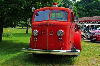 Photograph - Put-in-bay Volunteer Fire Dept IIi by Michiale Schneider