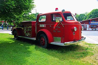 Photograph - Put-in-bay Volunteer Fire Dept V by Michiale Schneider