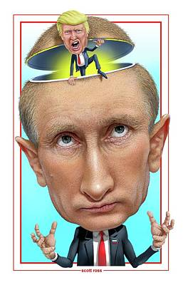Putin 2016 Art Print