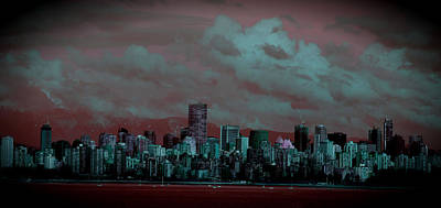 Photograph - Putrid Skyline by Lauren Williamson