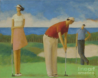 Painting - Putters On The North Shore by Glenn Quist