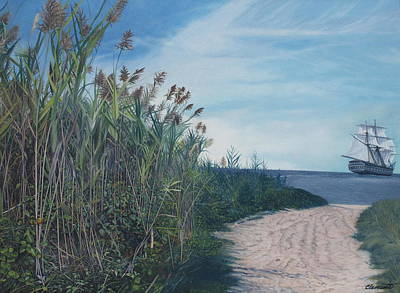 Painting - Putting Out To Sea by Barbara Barber