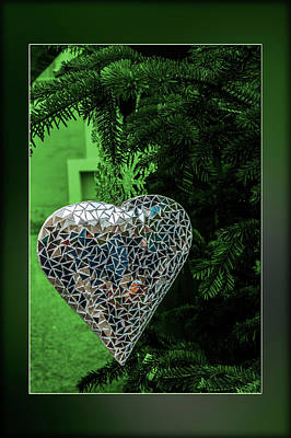 Hearts On Trees Digital Art - Putting The Heart Into It by Wolfgang Stocker