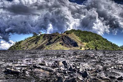 Photograph - Puu Huluhulu Cinder Cone by Joe  Palermo