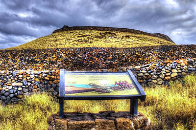 Photograph - Puukoholo Heiao National Historic Park by Joe  Palermo