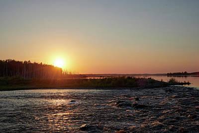 Photograph - Puurijarvi Sunset by Jouko Lehto