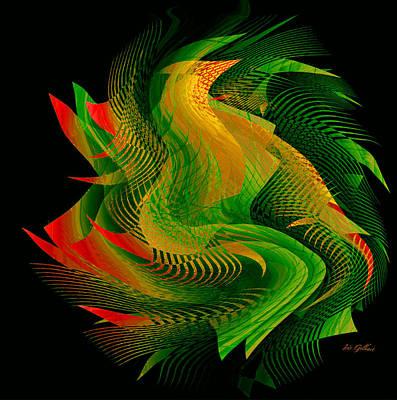 Digital Art - Puzzle #10 by Iris Gelbart