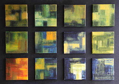 Puzzle IIi Original by Christiane Schulze Art And Photography