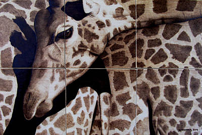 Woodburning Pyrography - Puzzled by Jo Schwartz