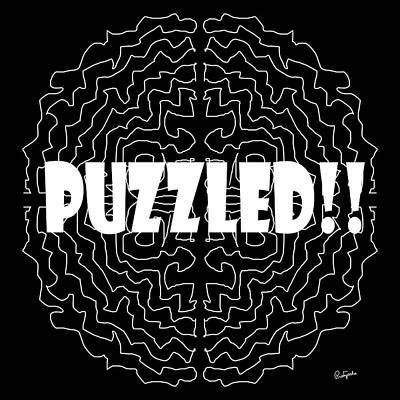 Digital Art - Puzzled by Pratyasha Nithin