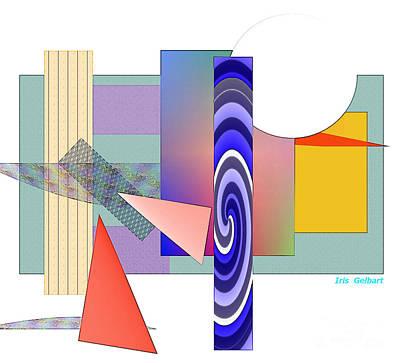Digital Art - Puzzling Times by Iris Gelbart