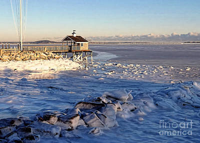 Photograph - Pyc Frozen Harbor 2018  by Janice Drew