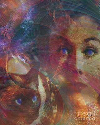 Pyewacket And Gillian Art Print by John Robert Beck
