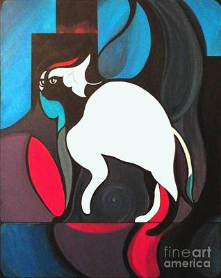 Painting - Pyewacket by John Lyes