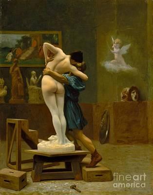Pygmalion And Galatea 1890 Art Print