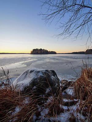 Photograph - Pyhajarvi Morning by Jouko Lehto